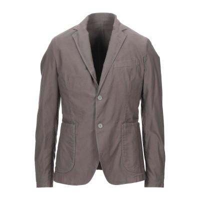 MARCIANO テーラードジャケット ダークブラウン 48 コットン 100% テーラードジャケット
