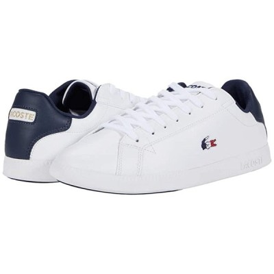 ラコステ Graduate Tri 1 メンズ スニーカー 靴 シューズ White/Navy/Red