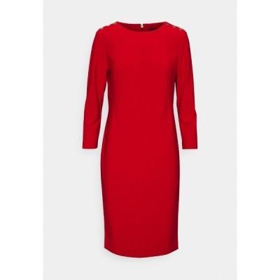 ラルフローレン ワンピース レディース トップス BONDED DRESS TRIM - Shift dress - lipstick red