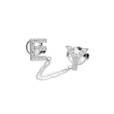ダイヤモンド プラチナピンブローチ ラペルピン イニシャルブローチ E Y ダイヤ 0.30ct タックピン 送料無料