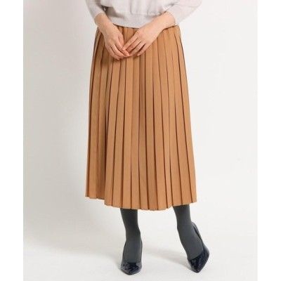 SunaUna / スーナウーナ 【洗える】ボックスプリーツミディスカート