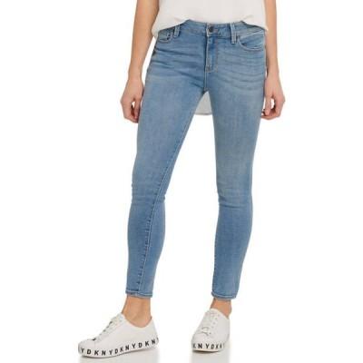 ダナキャランニューヨーク レディース デニムパンツ ボトムス Women's Foundation High Rise Skinny Ankle Jeans