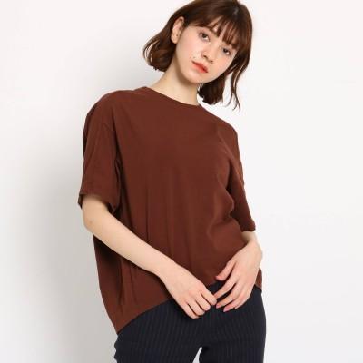 JET NEWYORK(ジェット)/【洗える】コットン天竺オーバーサイズTシャツ