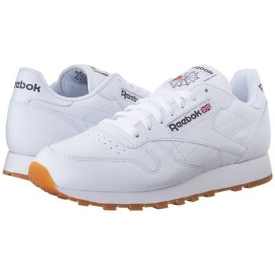 リーボック Reebok Lifestyle メンズ スニーカー シューズ・靴 Classic Leather White/Gum