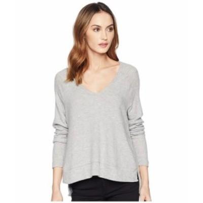Three Dots スリードッツ 服 スウェット Myra V-Neck Sweater