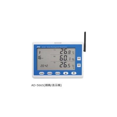 A&D ZigBeeワイヤレス温湿度計測システム 親機(表示器) AD-5665