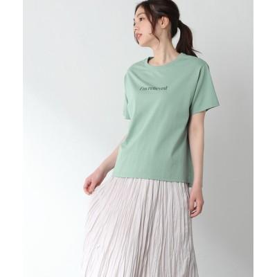 Honeys / 半袖ロゴプリントT WOMEN トップス > Tシャツ/カットソー