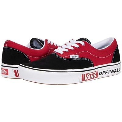 バンズ ComfyCush Era メンズ スニーカー 靴 シューズ (Future Standard) Black/Chili Pepper