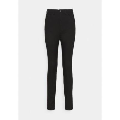 エンポリオ アルマーニ デニムパンツ レディース ボトムス Jeans Skinny Fit - black denim