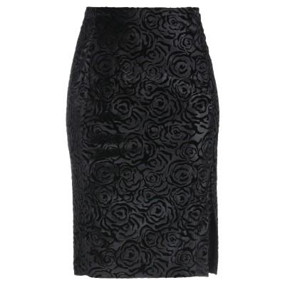 ピンコ PINKO ひざ丈スカート ブラック 40 ポリエステル 95% / ポリウレタン 5% ひざ丈スカート