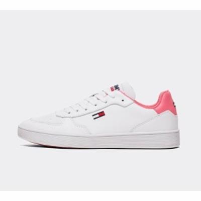 トミー ヒルフィガー Tommy Hilfiger レディース スニーカー シューズ・靴 cupsole trainer White/Pink