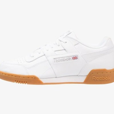 リーボック メンズ 靴 シューズ WORKOUT PLUS - Trainers - white/carbon/red/roya