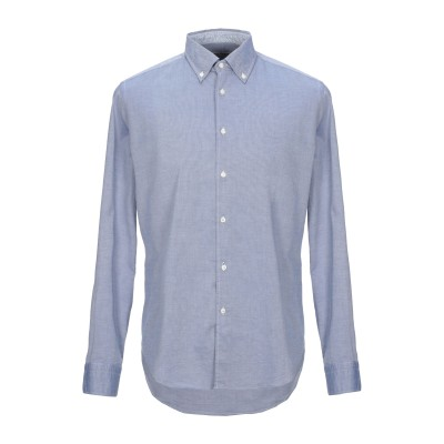 WEST COAST シャツ ダークブルー 42 コットン 100% シャツ