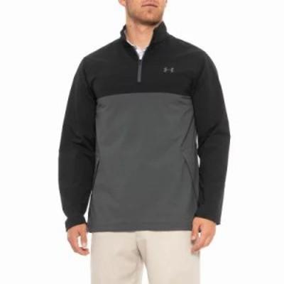 アンダーアーマー その他トップス Storm Windstrike Shirt - Zip Neck, Long Sleeve Rhino Gray