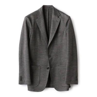 ジャケット テーラードジャケット SD: 【ラミー】 ジャージー ウォッシャブル ジャケット (チャコールグレー)