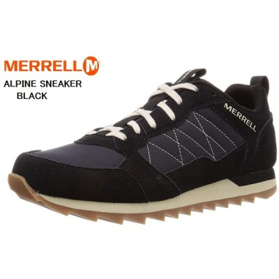 (メレル)MERRELL Alpine Sneaker J003001 J16695 カジュアルクラシカルレトロスニーカー シンプルなデザインの中にメレル独自の機能を搭載 メンズ