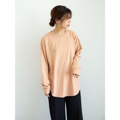 グリーンパークス Green Parks ・SUGAR SPOON SET2点Tシャツ&ロンT (Orange)