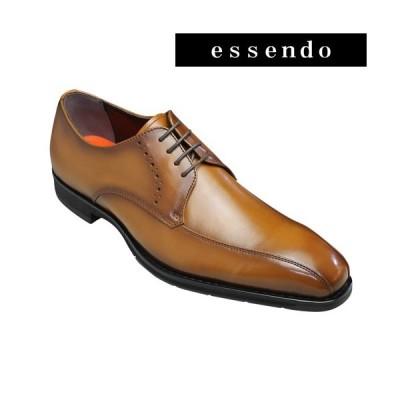 モデロ ビジネスシューズ 撥水 スワールモカ DM353 ライトブラウン MODELLO メンズ 靴
