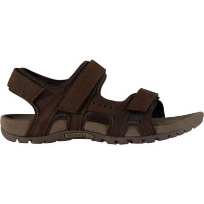 メレル Merrell メンズ サンダル バックストラップ シューズ・靴 Sandspur Backstrap Sandals Dark Earth
