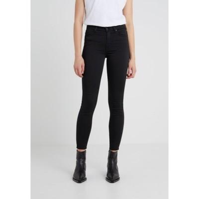 7フォーオールマンカインド デニムパンツ レディース ボトムス CROP - Jeans Skinny Fit - black