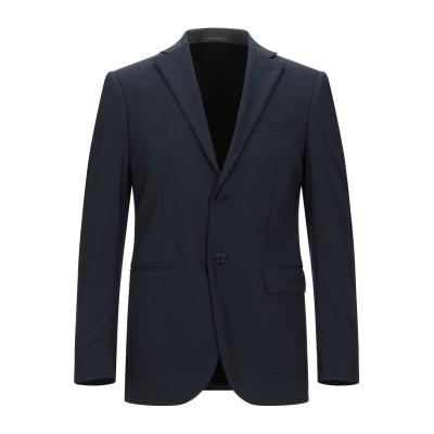 LUBIAM テーラードジャケット ダークブルー 50 バージンウール 98% / ポリウレタン® 2% テーラードジャケット