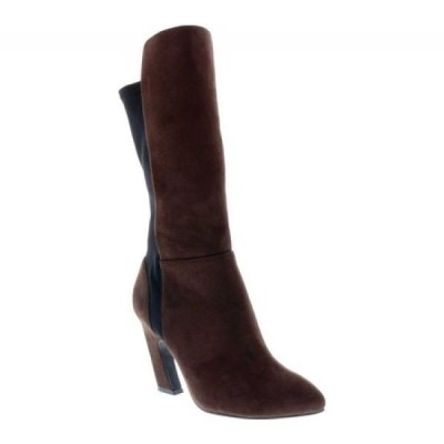ベリーニ Bellini レディース ブーツ シューズ・靴 Chrome Heeled Boot Brown Microsuede/Lycra