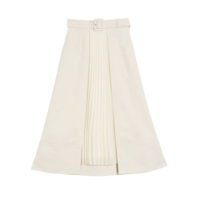 【ラグナムーン/LAGUNAMOON】 オーバーラッププリーツスカート