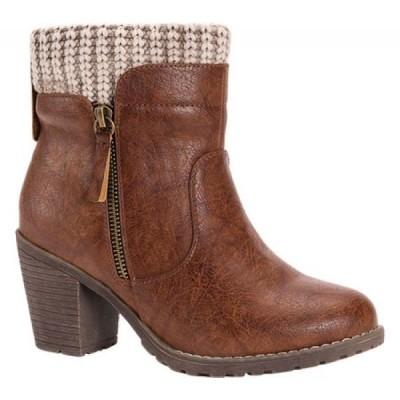 ムクルクス MUK LUKS レディース ブーツ ショートブーツ シューズ・靴 Gail Ankle Boot Brown