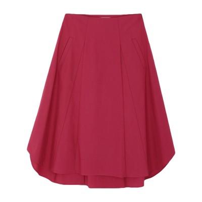 ROSSO35 7分丈スカート ガーネット 42 コットン 97% / ポリウレタン 3% 7分丈スカート