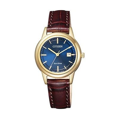 [シチズン] 腕時計 シチズン コレクション エコ・ドライブ フレキシブルソーラー ペアモデル FE1082-21L ブラウン