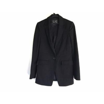 クードシャンス CdeC COUP DE CHANCE ジャケット サイズ38 M レディース 黒【還元祭対象】【中古】