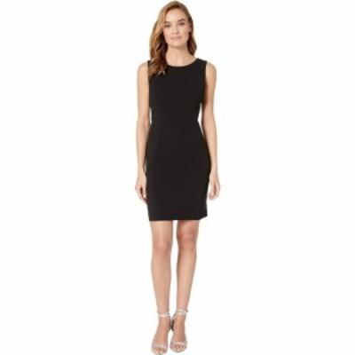 ベッツィ ジョンソン Betsey Johnson レディース ワンピース ワンピース・ドレス Scuba Crepe Cross-Back Dress Black