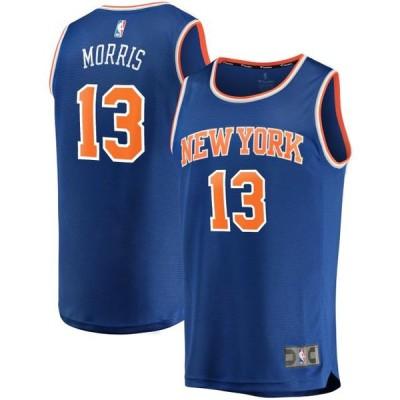 キッズ スポーツリーグ バスケットボール Marcus Morris New York Knicks Fanatics Branded Youth Fast Break Replica Player Jersey - Icon