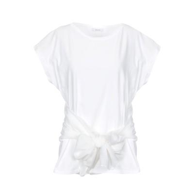I BLUES T シャツ ホワイト S コットン 100% T シャツ