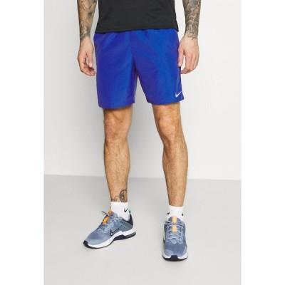 ナイキ カジュアルパンツ メンズ ボトムス RUN SHORT - Sports shorts - game royal/obsidian/silver