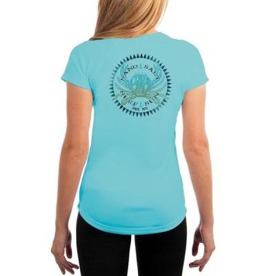 レディース 衣類 トップス SAND.SALT.SURF.SUN Vintage Crab Women's UPF 50+ Short Sleeve T-Shirt Tシャツ