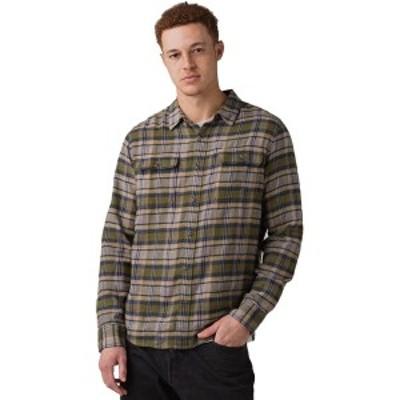 プラーナ メンズ シャツ トップス Westbrook Slim Flannel Shirt - Men's Vert Green