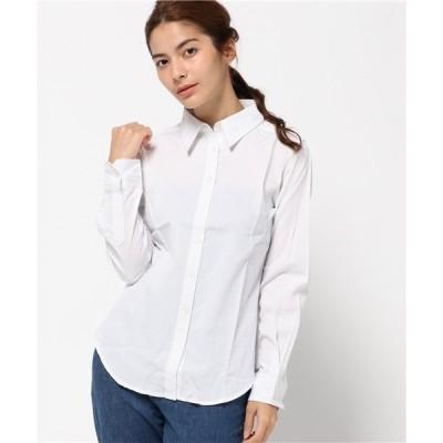 シャツ ブラウス シンプル定番ストライプシャツ