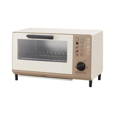コンテ オーブントースター TS-4041BR 6204-072 家電 楽々 一人暮らし