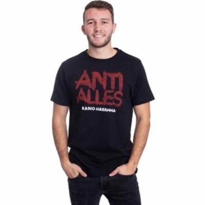 インペリコン Impericon メンズ Tシャツ トップス - Anti Alles - T-Shirt black
