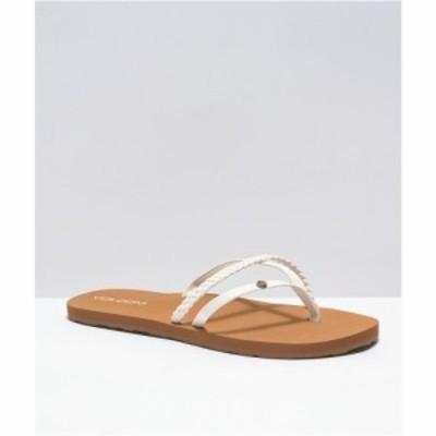 ボルコム VOLCOM レディース サンダル・ミュール シューズ・靴 Volcom Thrills II White Sandals White