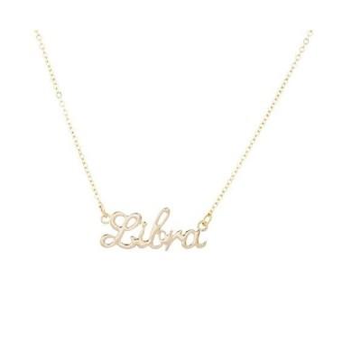 (Gold Libra) - Lux Accessories Girls Silvertone and Goldtone Horoscope Zodi