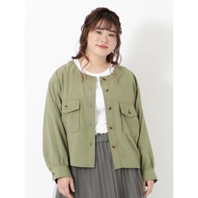 【大きいサイズ】CPOジャケット 大きいサイズ アウター レディース