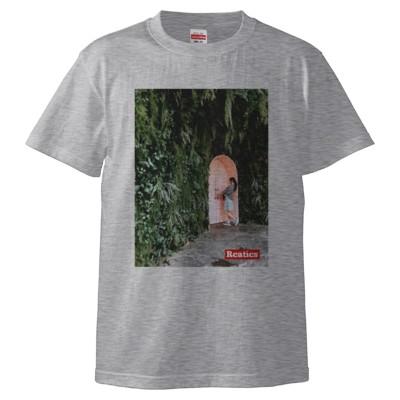 謎の森とドア編【韓国】(Tシャツ)(カラー : アッシュ, サイズ : L)