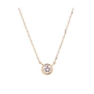 TONE / 【Room403】クレールダイヤモンドネックレス(PG) WOMEN アクセサリー > ネックレス