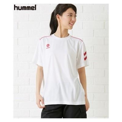 スポーツウェア トップス メンズ HUMMEL ワンポイント Tシャツ 男女兼用 M〜6L ニッセン nissen