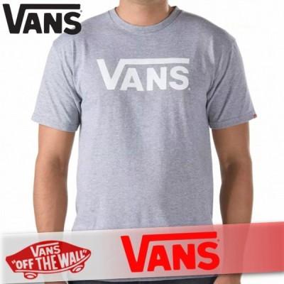 VANS バンズ Tシャツ 半袖 メンズ イプ スタック オフ ザ ウォール プリントロゴ 丸首 XS〜XXL トップス 新作 ヴァンズ