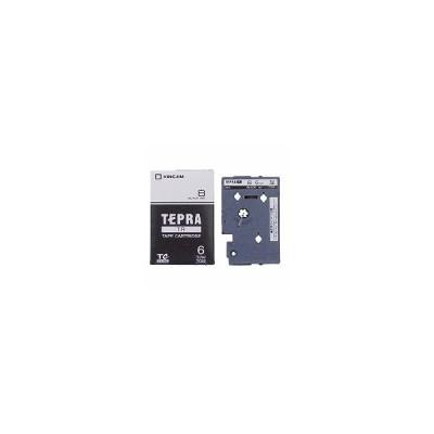テプラTR テープカートリッジ 白ラベル 6mm TC6S キングジム 4971660753376