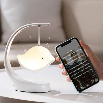 ベッドサイドランプ ナイトランプ 室内ランプ Bluetoothワイヤレススピーカー テーブルランプ、タッチセンサー式ナーシングランプ、間接照明 USB充電式
