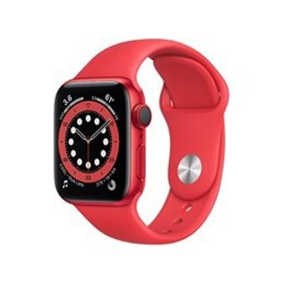 ★アップル / APPLE Apple Watch Series 6 GPS+Cellularモデル 40mm M06R3J/A [(PRODUCT)REDスポーツバンド]